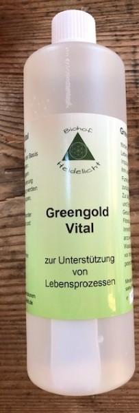 Greengold Vital 500 ml Flasche