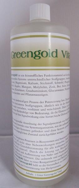 Greengold Vital 1 Liter Flasche