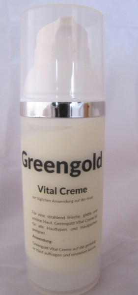 Greengold Vital Creme 50 ml Spender