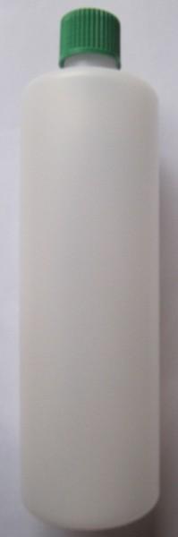 Leerflasche Plastik mit Schraubverschluss 1/2 Liter