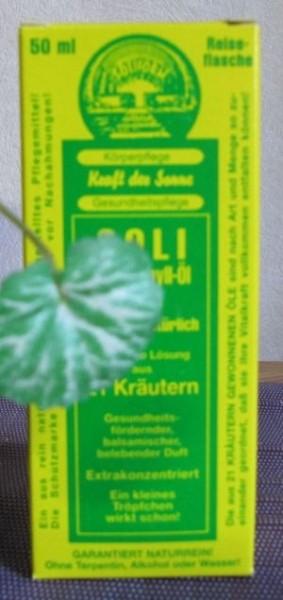 Soli-Chlorophyll-Oel S 21 - 50ml Flasche