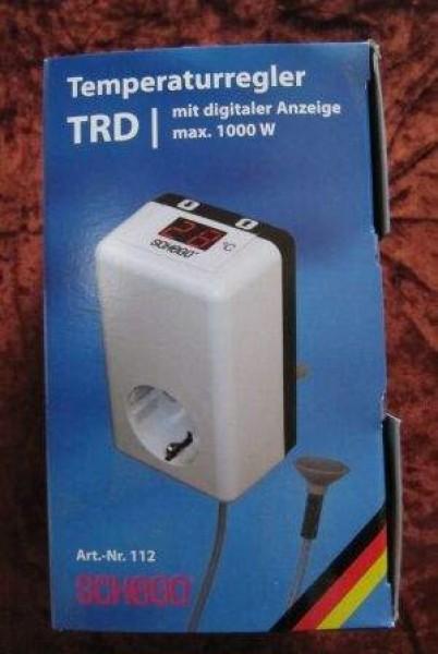 Temperaturregler TDR mit digitaler Anzeige max.1000 Watt