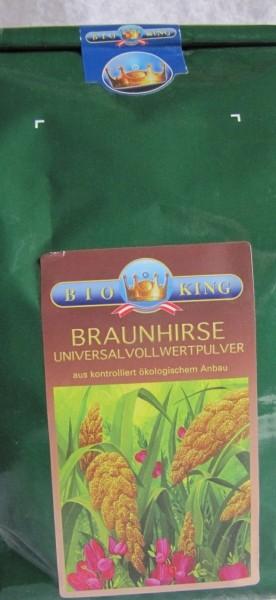 BioKing Braunhirse gemahlen bio.1 kg 50/50 gekeimt