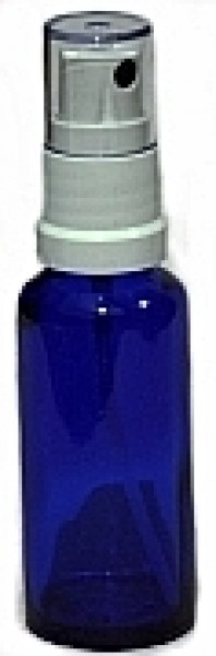 Blauglasflasche mit Spruehkopf 30 ml