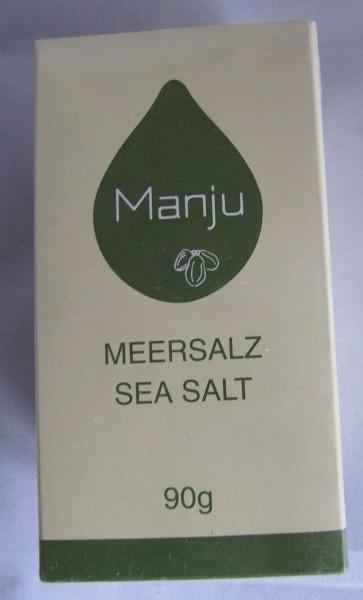 Manju Meersalz 90 g Streuer