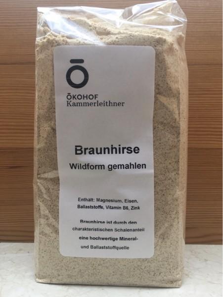 Braunhirse gemahlen 1 kg - konventionell