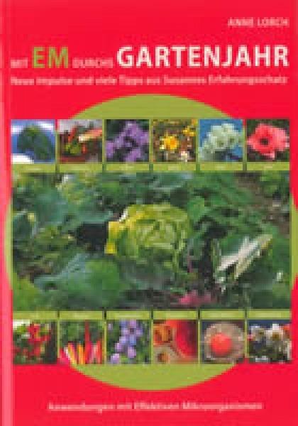 Buch Mit EM durchs Gartenjahr