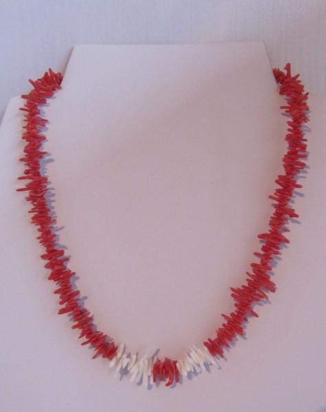 Koralle rot/weiß Äste
