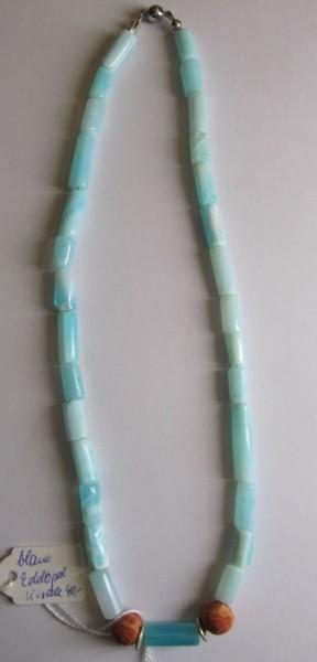 Opal blau Schaumkoralle
