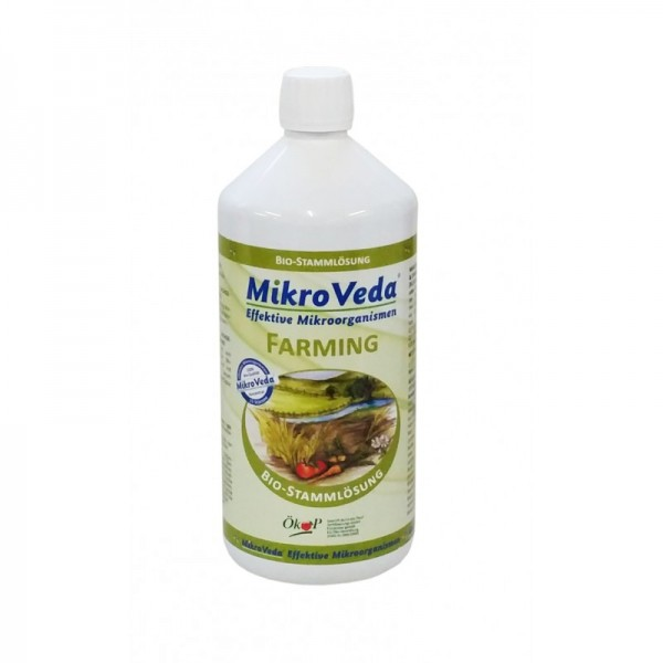 Mikroveda-Farming 1 Liter Flasche