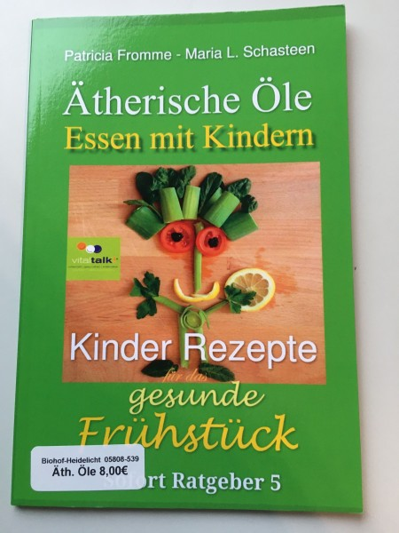 Buch Ätherische Öle - Essen mit Kindern