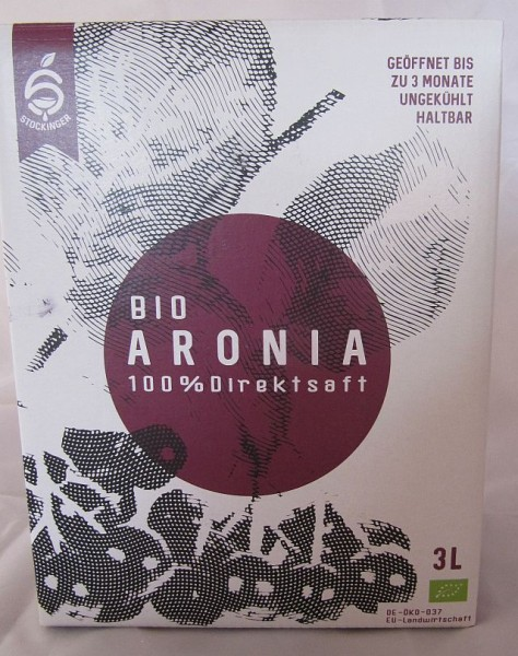 Bio Aroniasaft 3 ltr. Bag