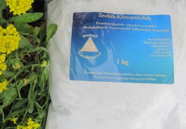 Zeolith feinst vermahlen 1 kg Nachfüllbeutel