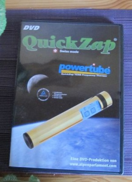DVD Quick Zap Power Tube