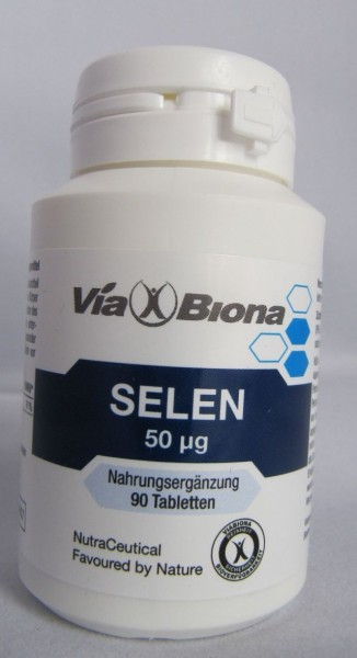 Via Biona Selen Tabletten