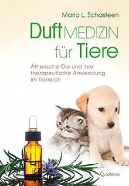 Buch Duftmedizin für Tiere