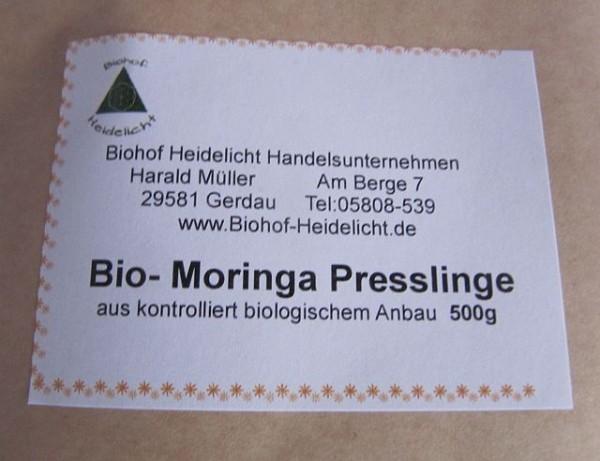 Bio Moringa Presslinge 500g