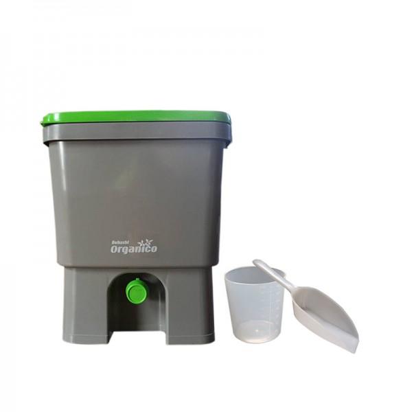 Bokashi-Kücheneimer Organico dunkel
