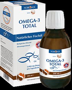Omega-3 TOTAL Fischöl 200 ml Flasche