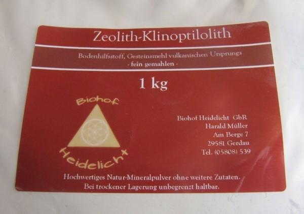 Zeolith fein 1 kg Beutel