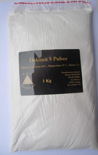 Dolomit S 1 kg Beutel